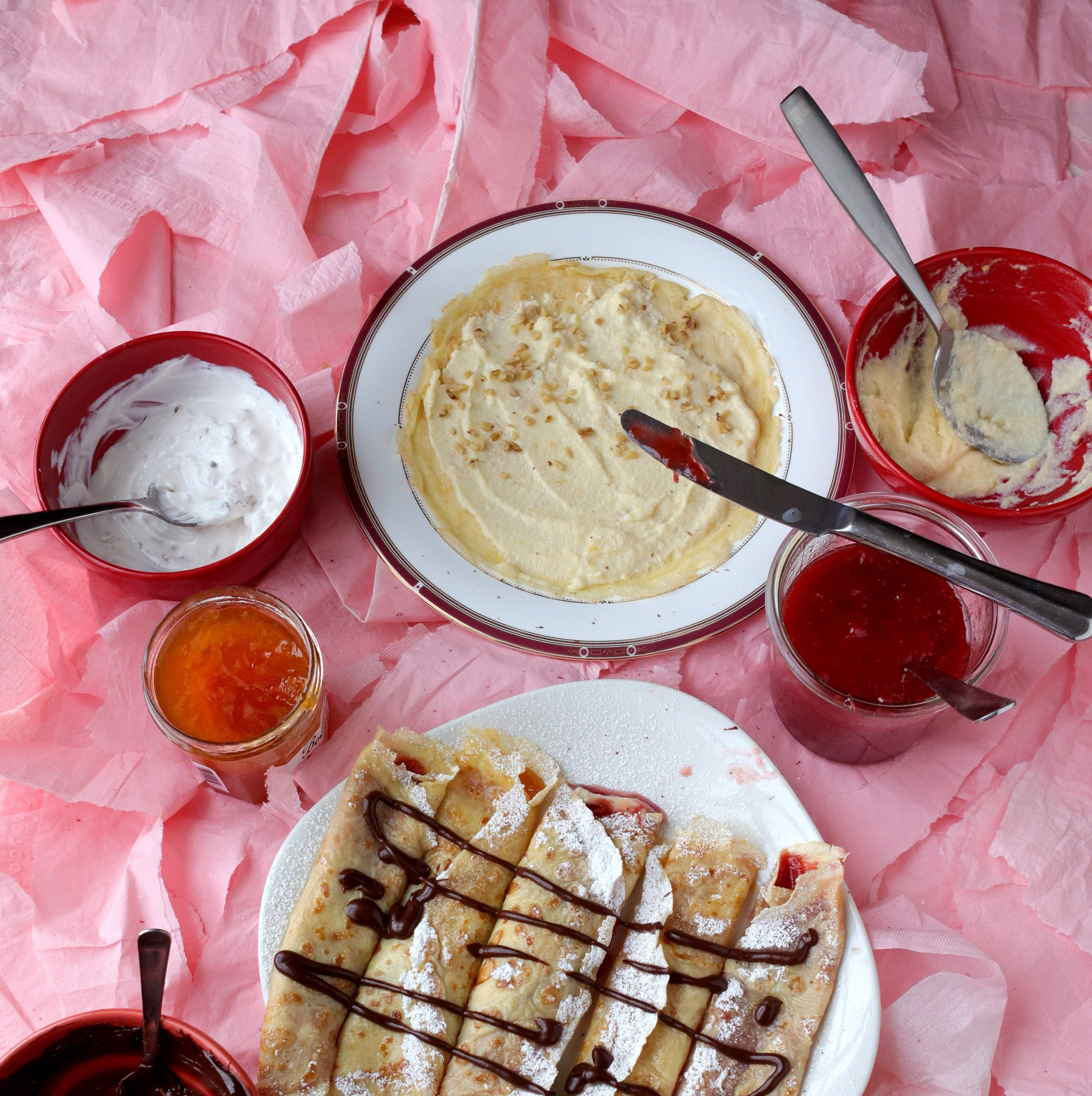 Palacsinta, Hungary's popular dessert