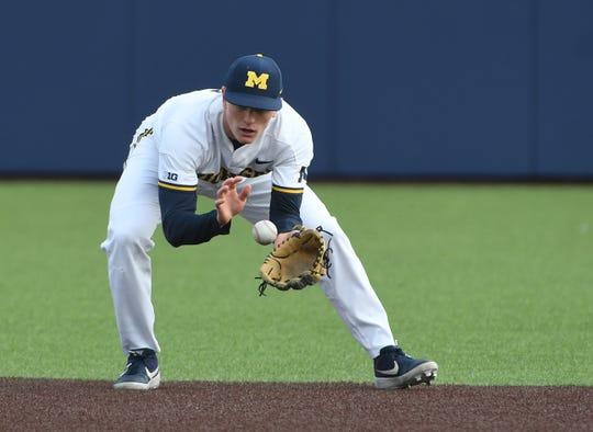 Michigan's Jack Blomgren
