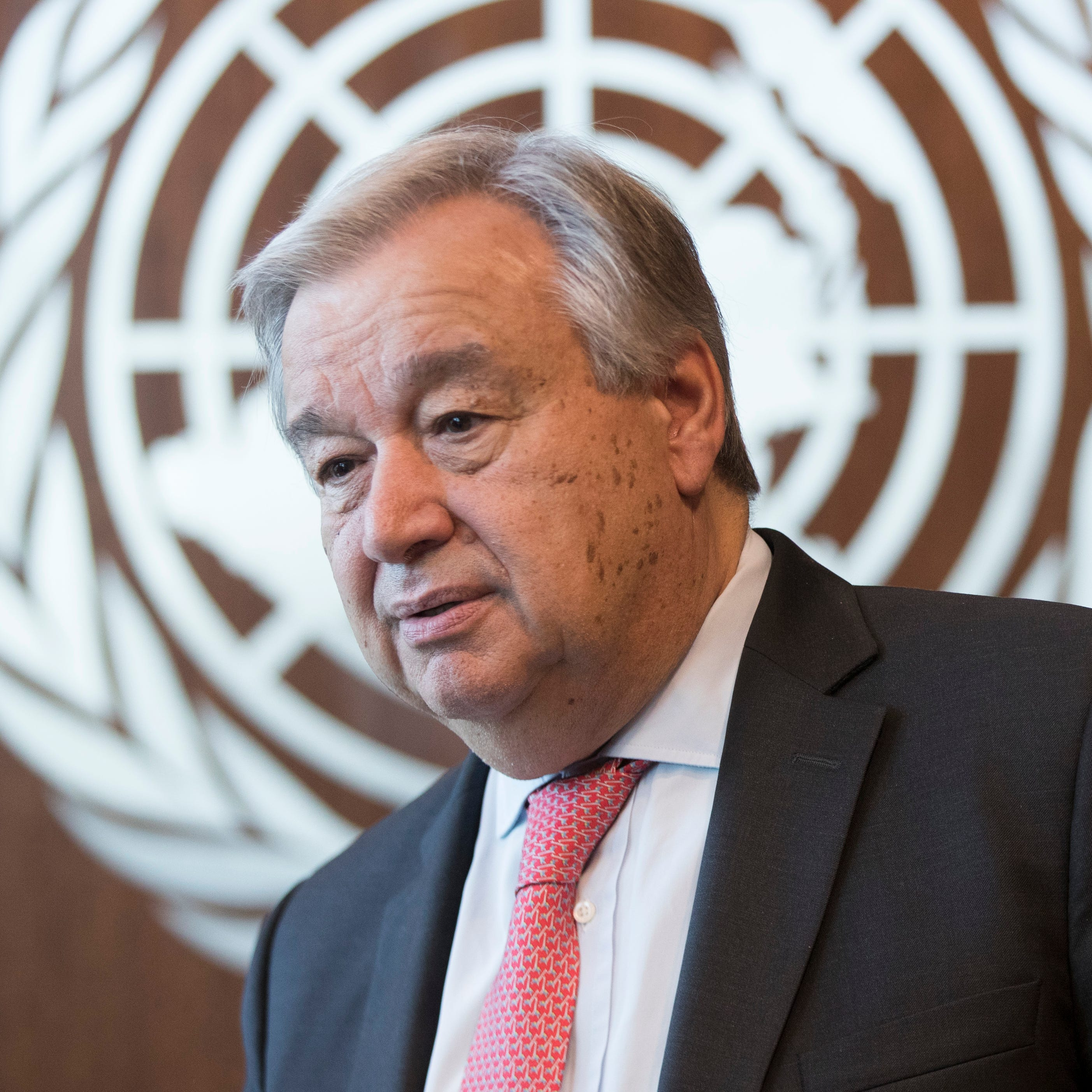 UN chief says 'total disaster' if warming not stopped