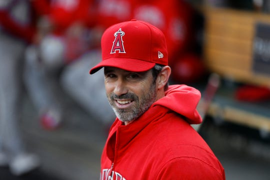 Before becoming the manager for the Angels, Brad Ausmus guided the Tigers to an AL Central title and a 314-332 record from 2014-17.