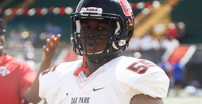 Michigan recently offered a scholarship to Oak Park offensive lineman Rayshaun Benny.