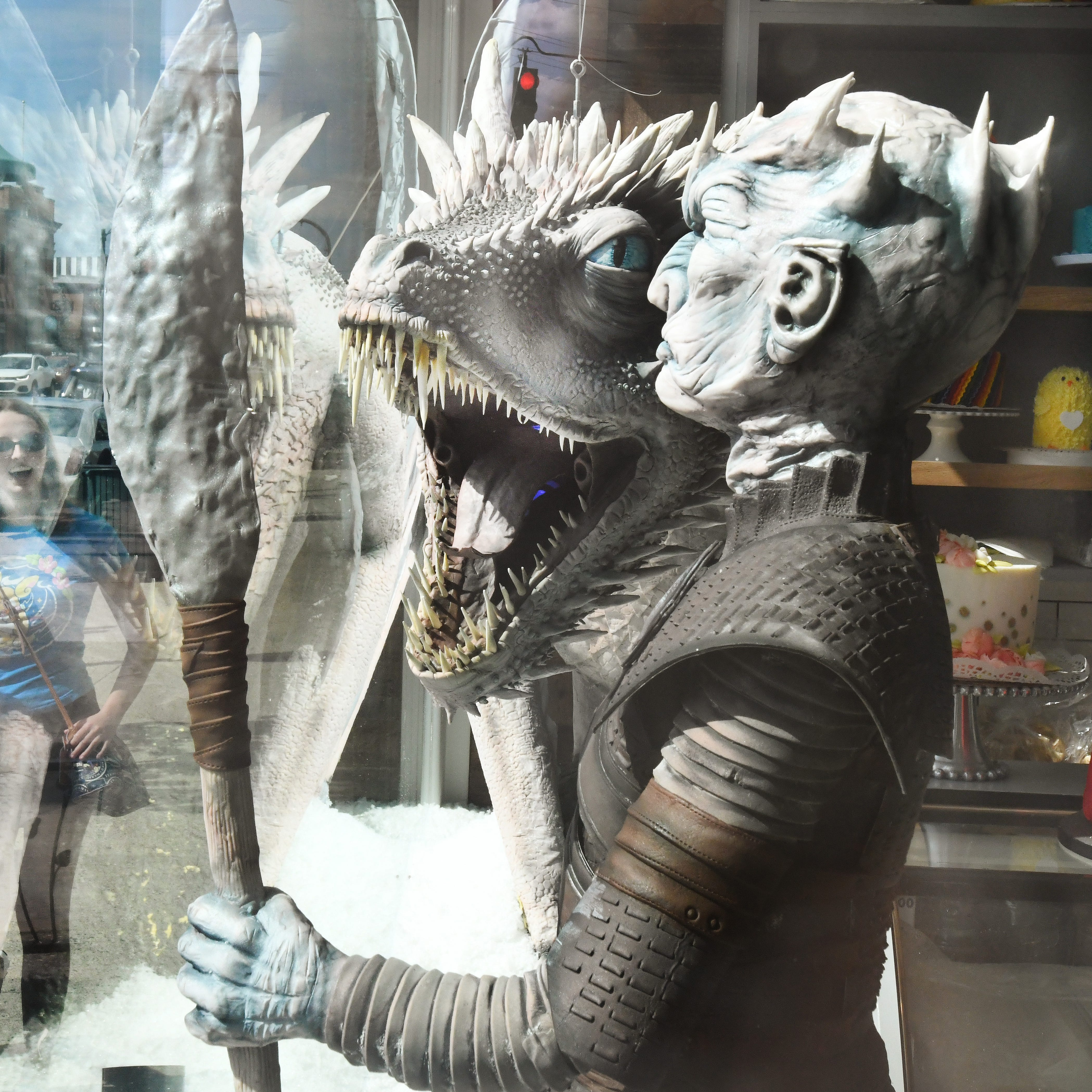 Mother of cakes: Rochester bakery's 'Game of Thrones' dragon, Night King turn heads