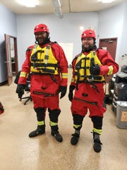 The Michigan Humane Society response team members are prepared for floods or any disaster.