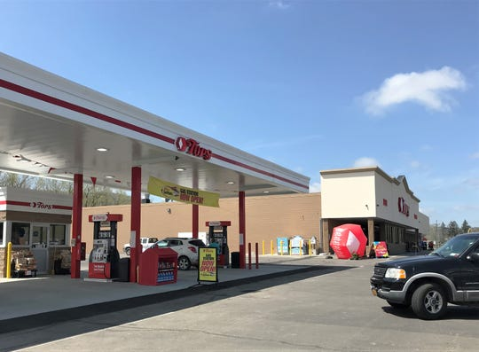 A new fuel station is a highlight of a $1.8 million renovation project at the Tops Friendly Market on Cedar Street in Southport.