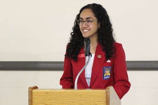 Skills USA National Officer Ulamila Uluiviti of Piqua, talks about how skilled trades changed her life.