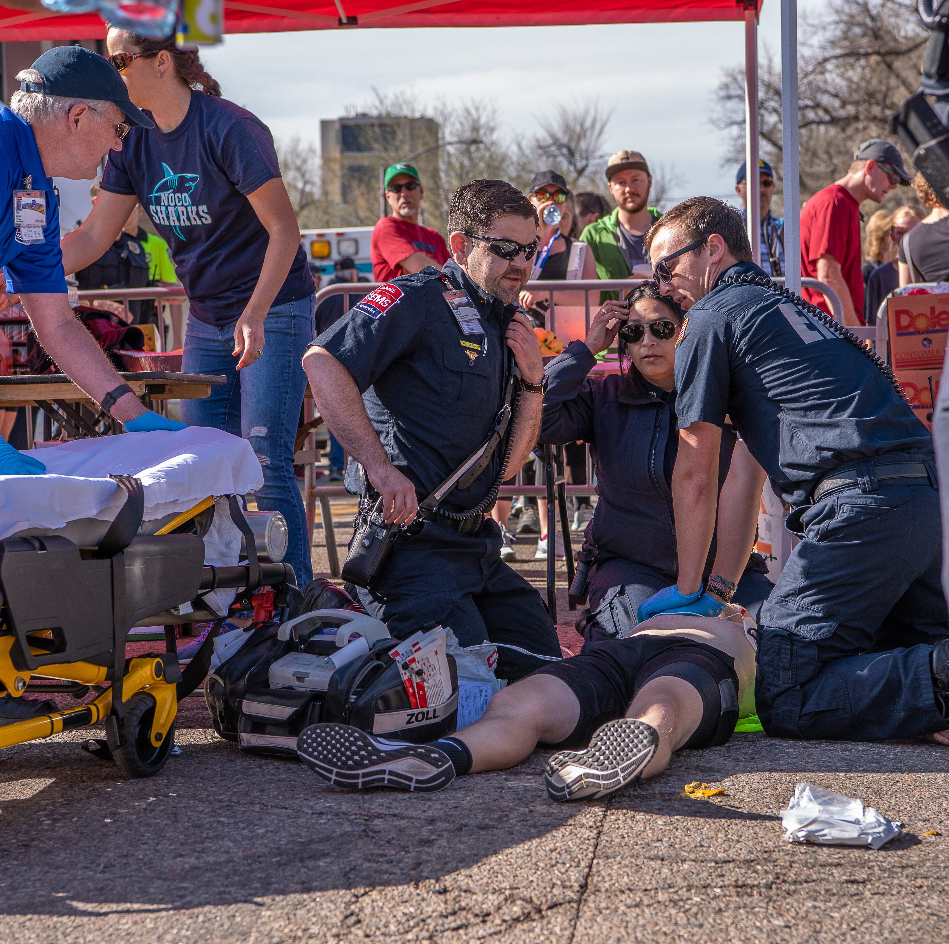 CPR at finish line saves life of 24-year-old Colorado half-marathoner who went into cardiac arrest