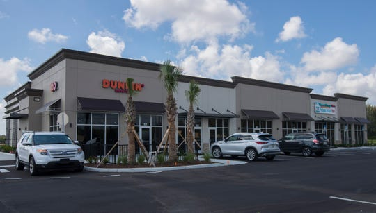 A new prototype Dunkin' location is going in at this new mini mall on the southwest corner of Nicholas Parkway and Pine Island Road.