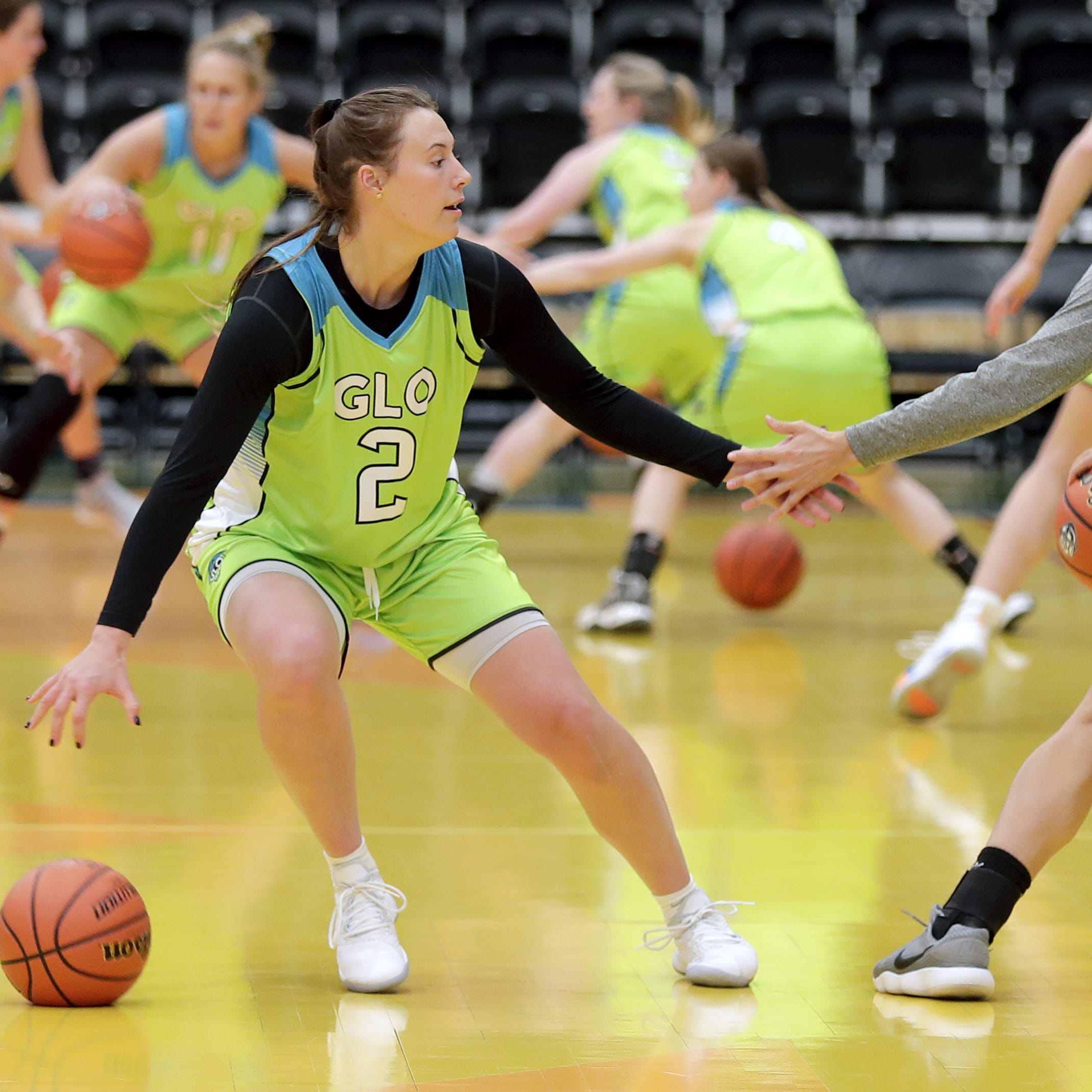 Wisconsin Glo, a new women's professional basketball team, debuts Friday in Oshkosh