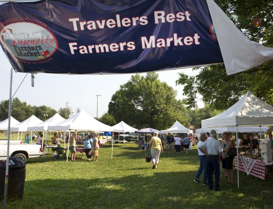 The Farmers Contra event mixes local food, dancing and fundraising into one night that benefits the Travelers Rest Farmers Market. Travelers Rest Farmers Market Saturday morning.