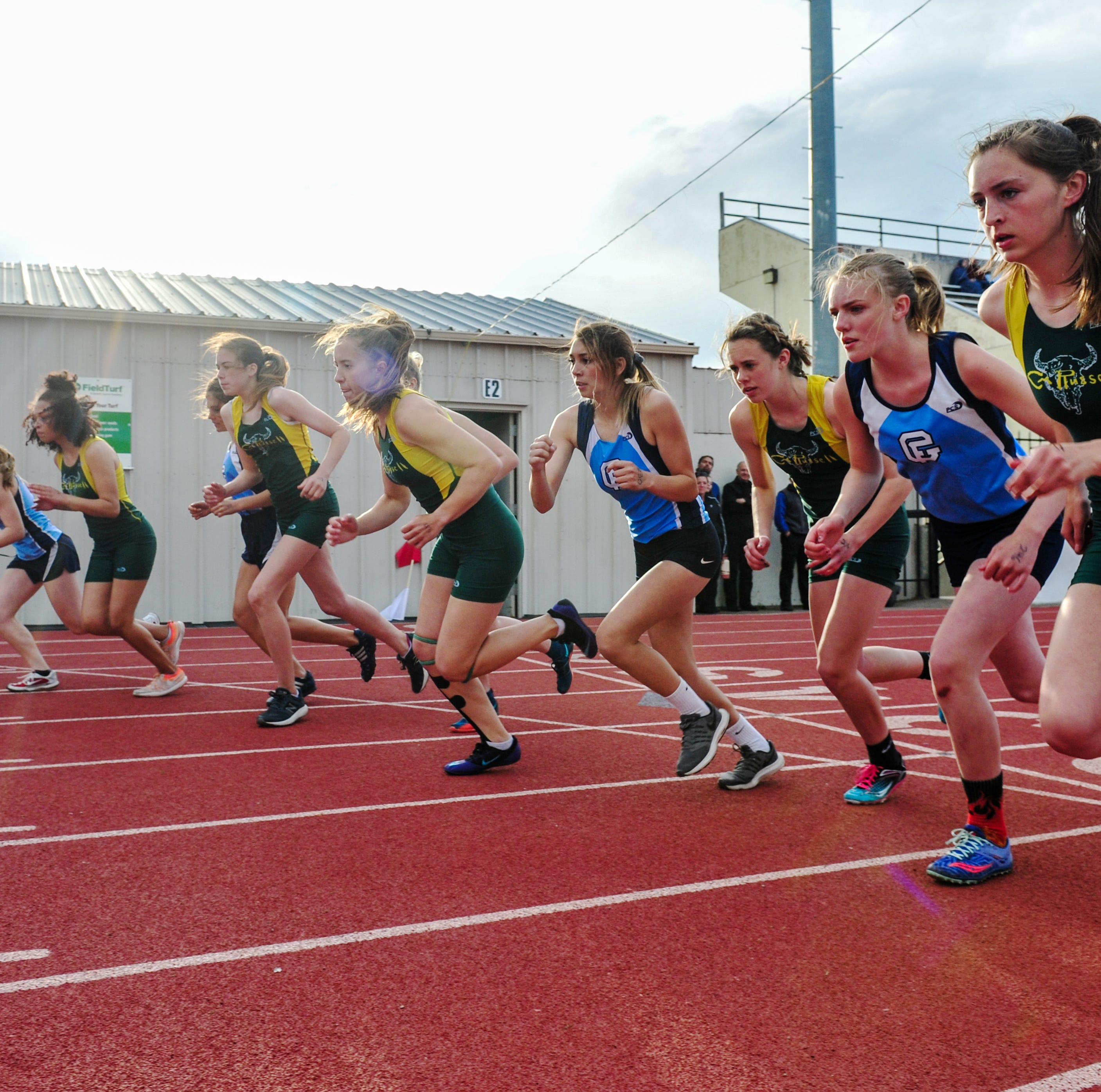 Rustlers sweep Bison in crosstown track and field meet