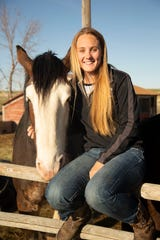 Grace Weber plans to study pre-vet and continue to work with horses.