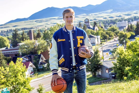 Trafton has won all-state honors in football, basketball and track the last two years.