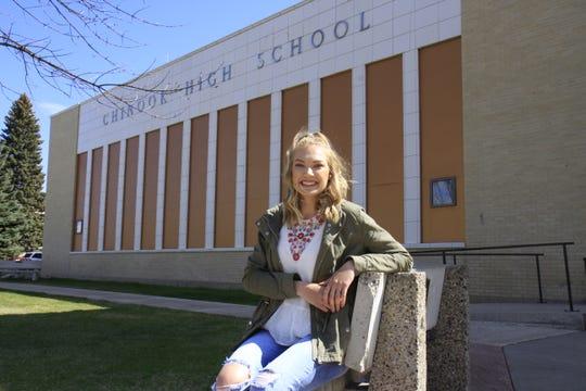 Kourtney Hanson wil attend MSU Billings to earn degree in elementary education.
