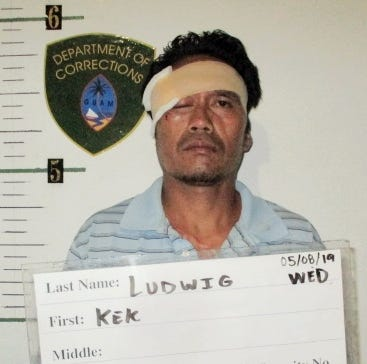 Kek Ludwig charged in alleged fishing spear assault