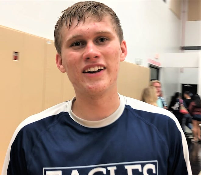 Keith Chase, setter for the Harvest Christian Academy Eagles, is the PDN's Player of the Week.