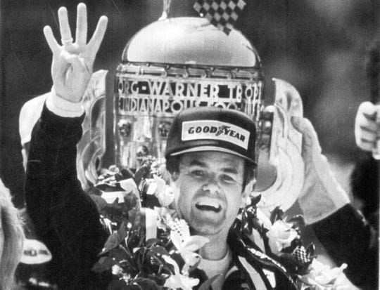 Al Unser won his fourth Indy 500 in 1987.