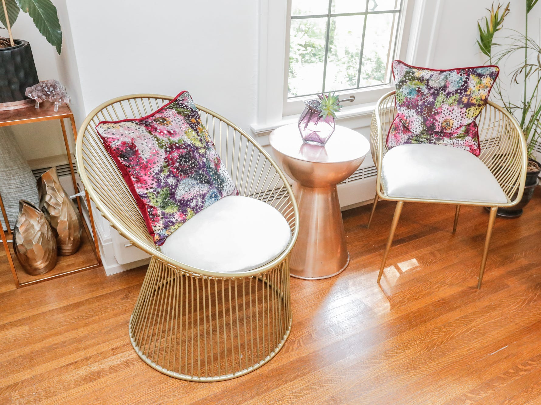 """The """"Toren Reinventing Amsterdam"""", designed by Monica Due and Julie Boutilier, of Cornerstone Interiors, inside the 58th annual St. Margaret's Hospital Guild Decorators' Show House and Gardens, located at 4160 Washington Blvd., Indianapolis, on Wednesday, May 8, 2019."""