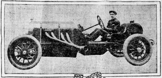 Louis Disbrow in 1911.
