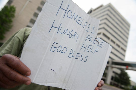 You've probably seen people asking for money at busy intersections around the Alexandria area. Maybe you have even given them some out of a charitable instinct. But local stakeholders trying curb homelessness say such giving can actually hurt efforts to get people off the streets.