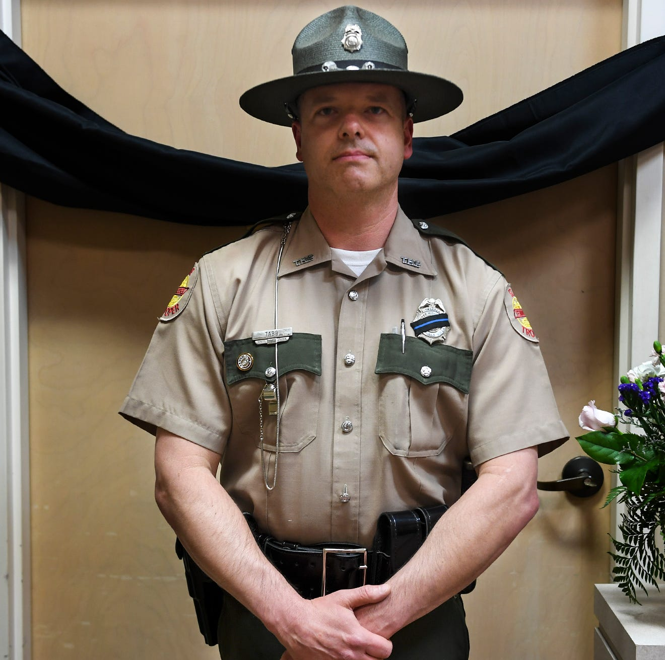 'We're all brothers': Law enforcement officers share grief after death of Trooper Matthew Gatti
