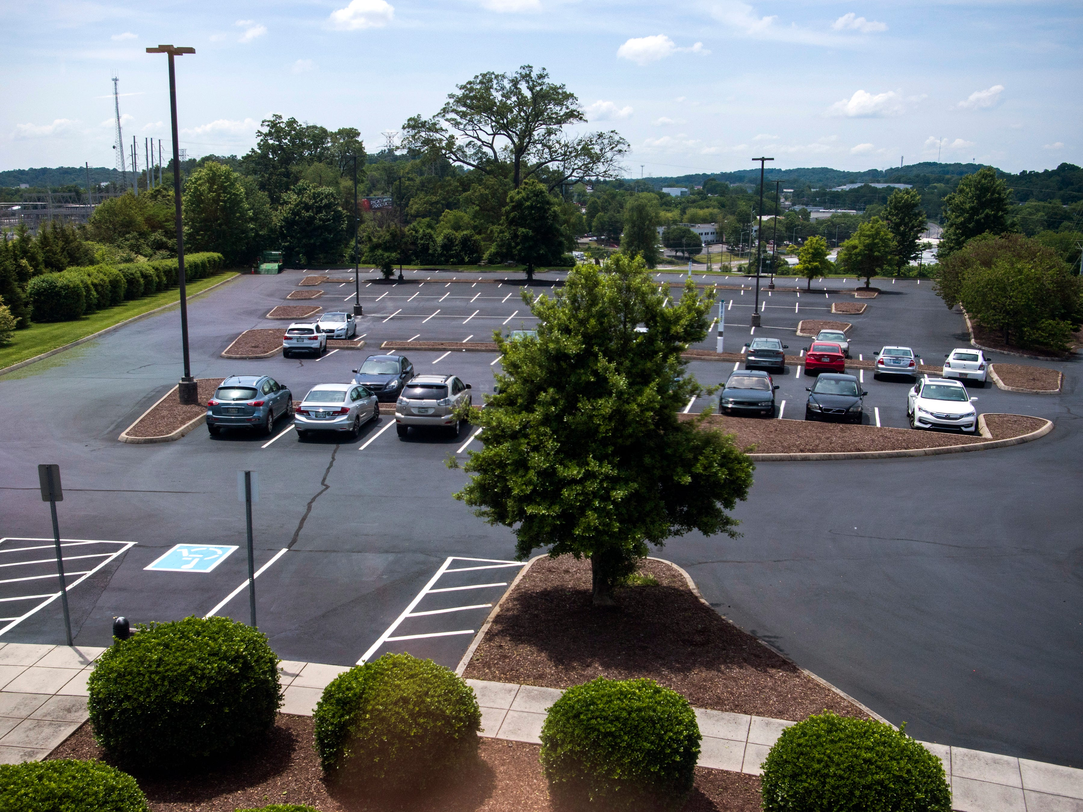 Office space available for rent at 2332 News Sentinel Drive in Knoxville.