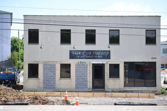 The future site of Albright Grove Brewing Company at 2924 Sutherland Ave. pictured May 8, 2019.