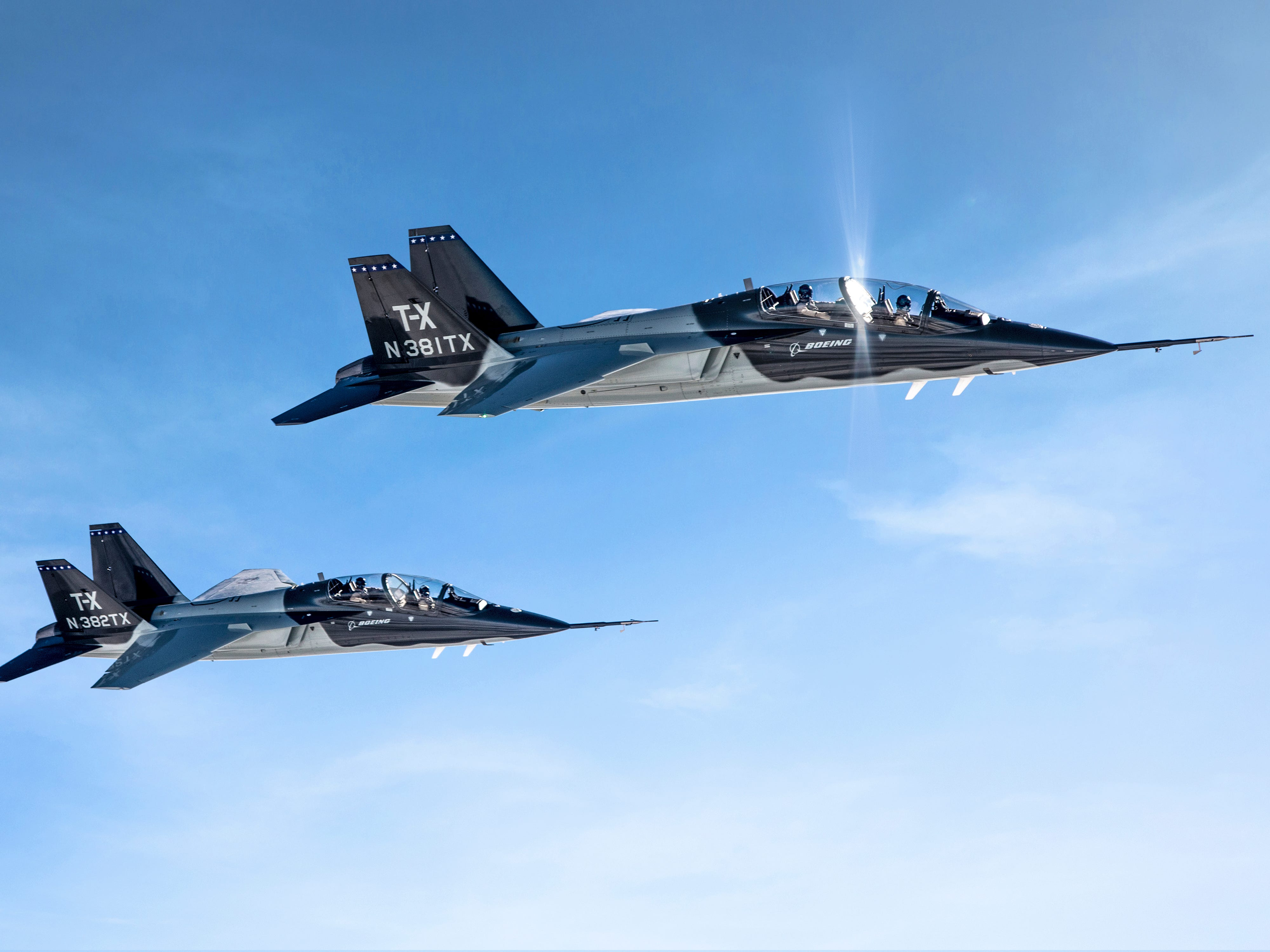 New manufacturing facility in West Lafayette, in Purdue's Discovery Park District, will support production of the U.S. Air Force's next-generation jet trainer. The facility is expected to create up to 300 new jobs, according to state and university officials on Wednesday, Sept. 8, 2019.