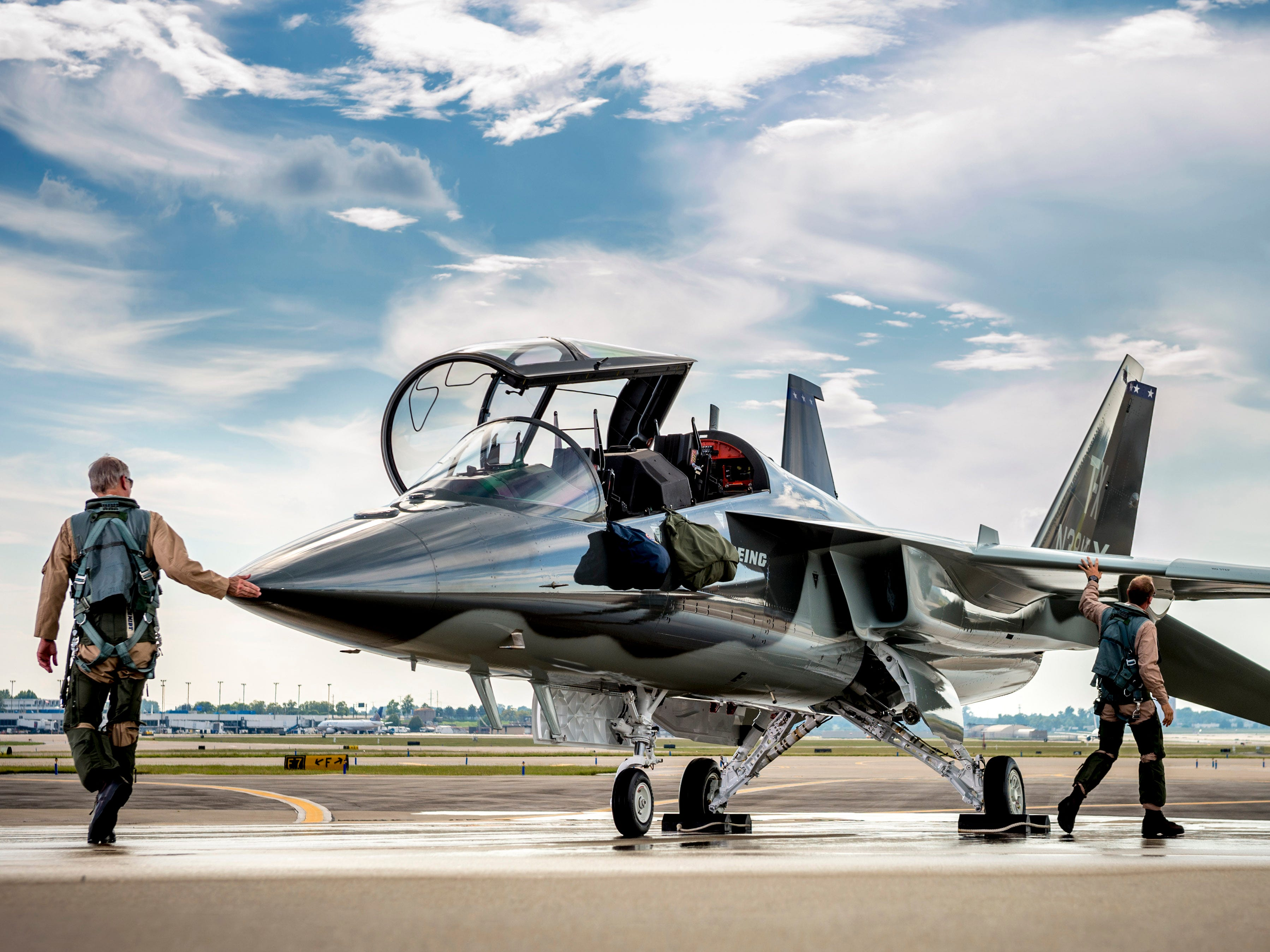 Purdue University announced Wednesday, May 8, 2019, that Saab will build a $37 million plant just west of the West Lafayette campus to do work related to the Boeing T-X, the U.S. Air Force's next generation training jet. The Saab plant is expected to bring 300 jobs.