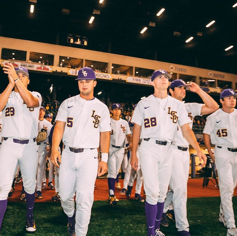 LSU takes over 5th place in the SEC at 16-12 with 7-1 win over Auburn and an Ole Miss loss