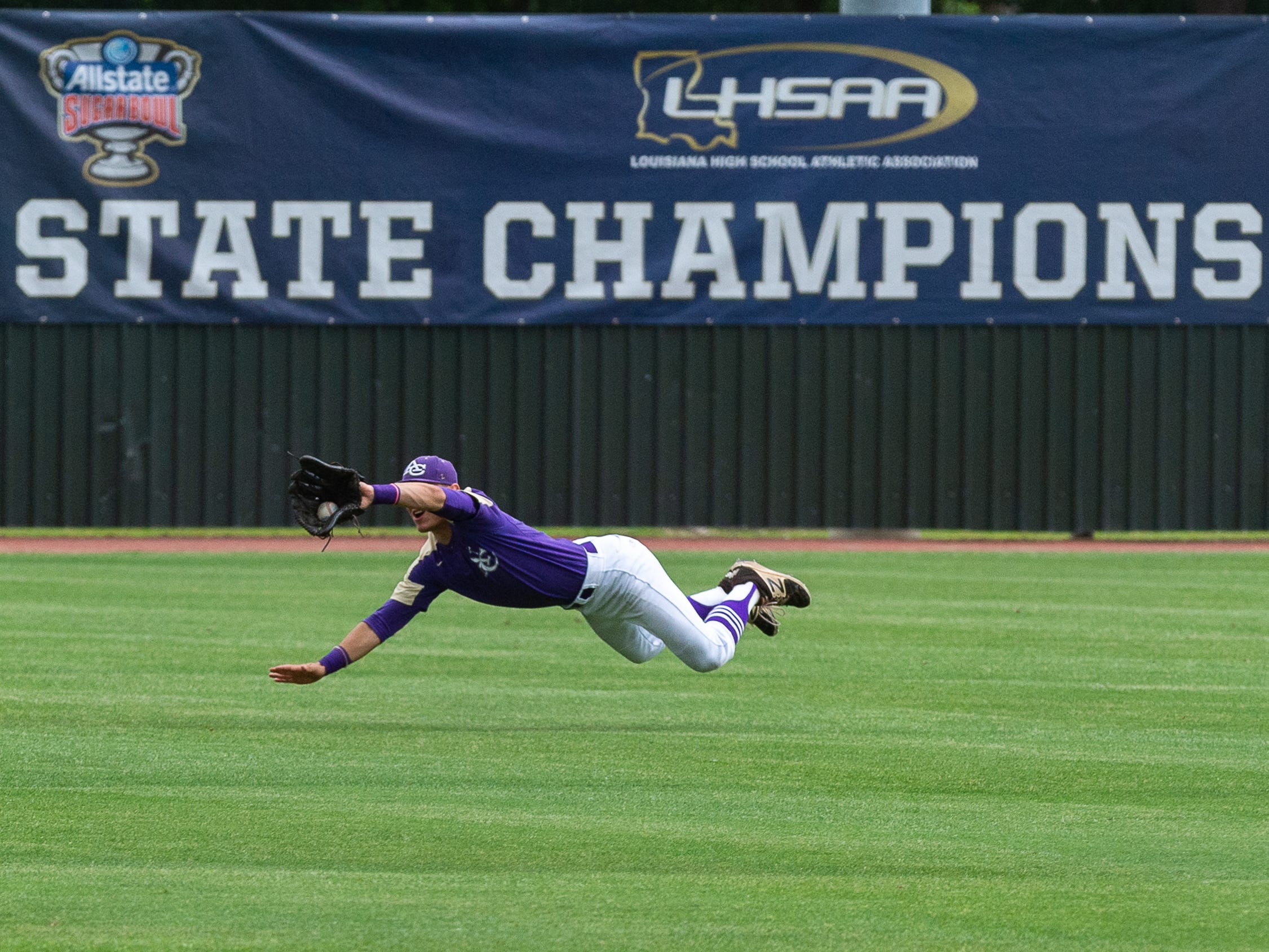 Opelousas Catholic takes on Ascension Catholic in the Div IV Semi Final game of the LHSAA State Baseball Championship. Wednesday, May 8, 2019.