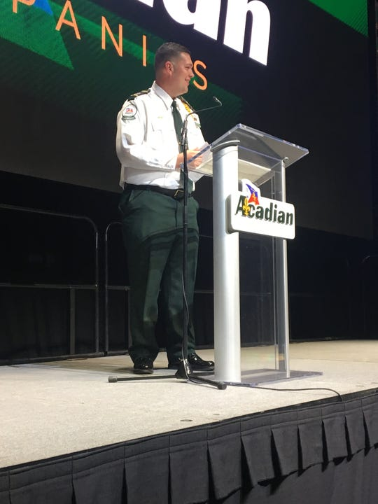 Mike Richard, a paramedic field supervisor stationed in Crowley for Acadian Ambulance, was named the Acadian Ambulance Paramedic of the Year at the company's annual Medic of the Year Luncheon Wednesday, May 8, 2019, at the Cajundome.