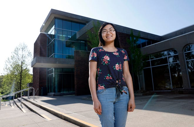 Bloom-Carroll High School student Hattie Poling spent her senior attending class at Ohio University Lancaster. She also worked a full-time job and taught violin and viola lessons.
