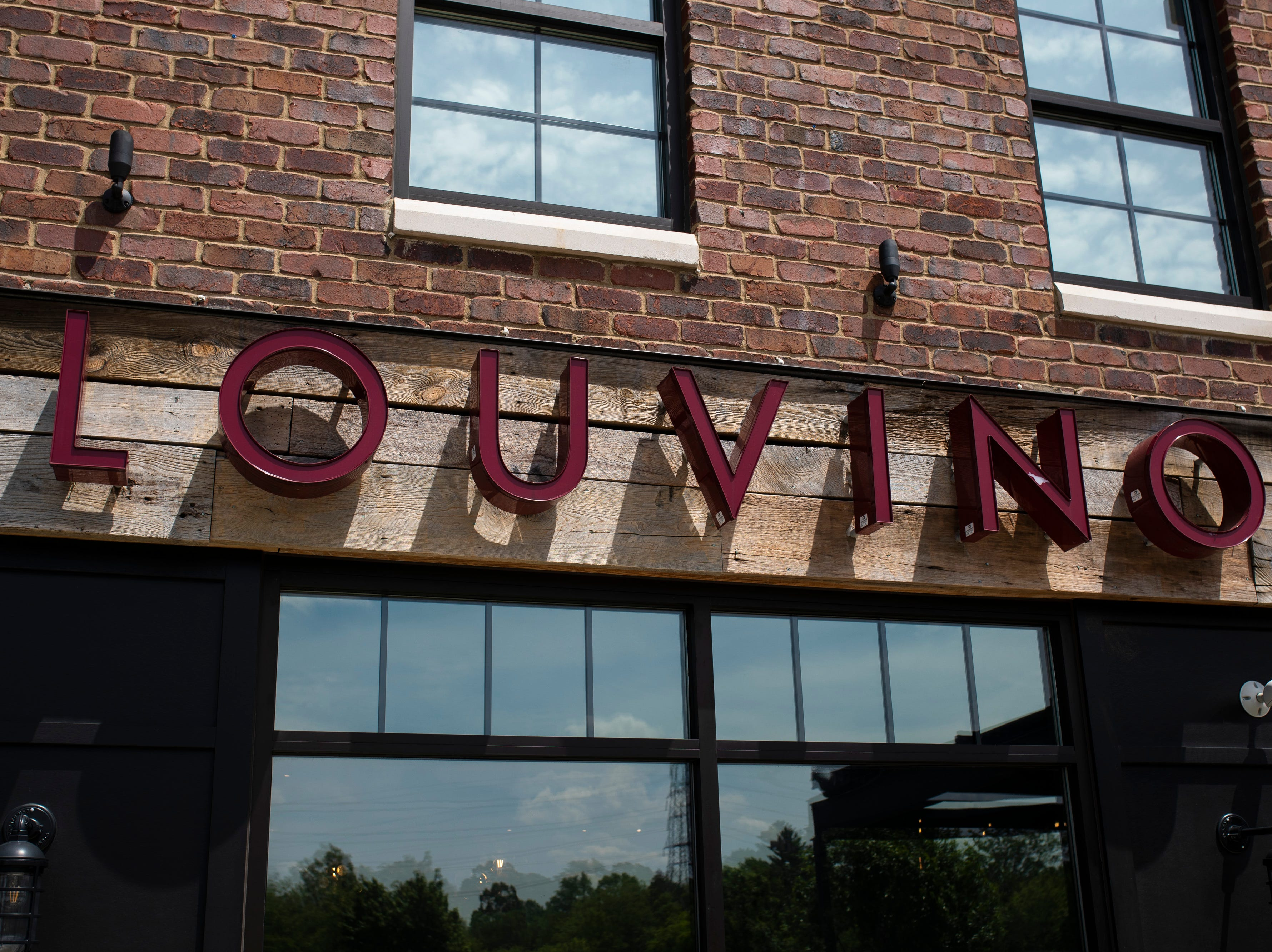 Outside of Louvino in the Middletown neighborhood. May 8, 2019