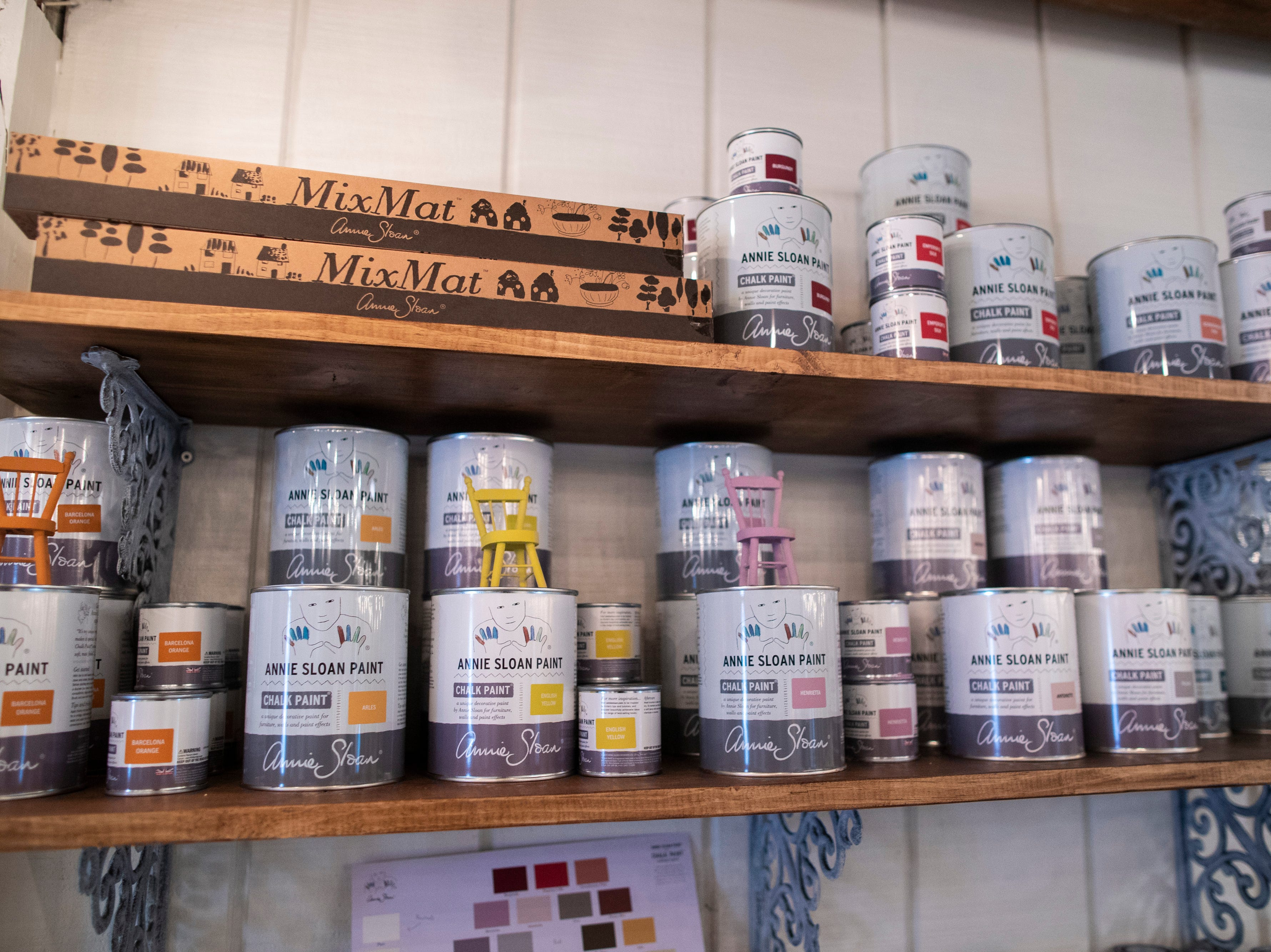 Gather is the exclusive retail shop for Annie Sloan chalk paint in the Middletown neighborhood. May 8, 2019
