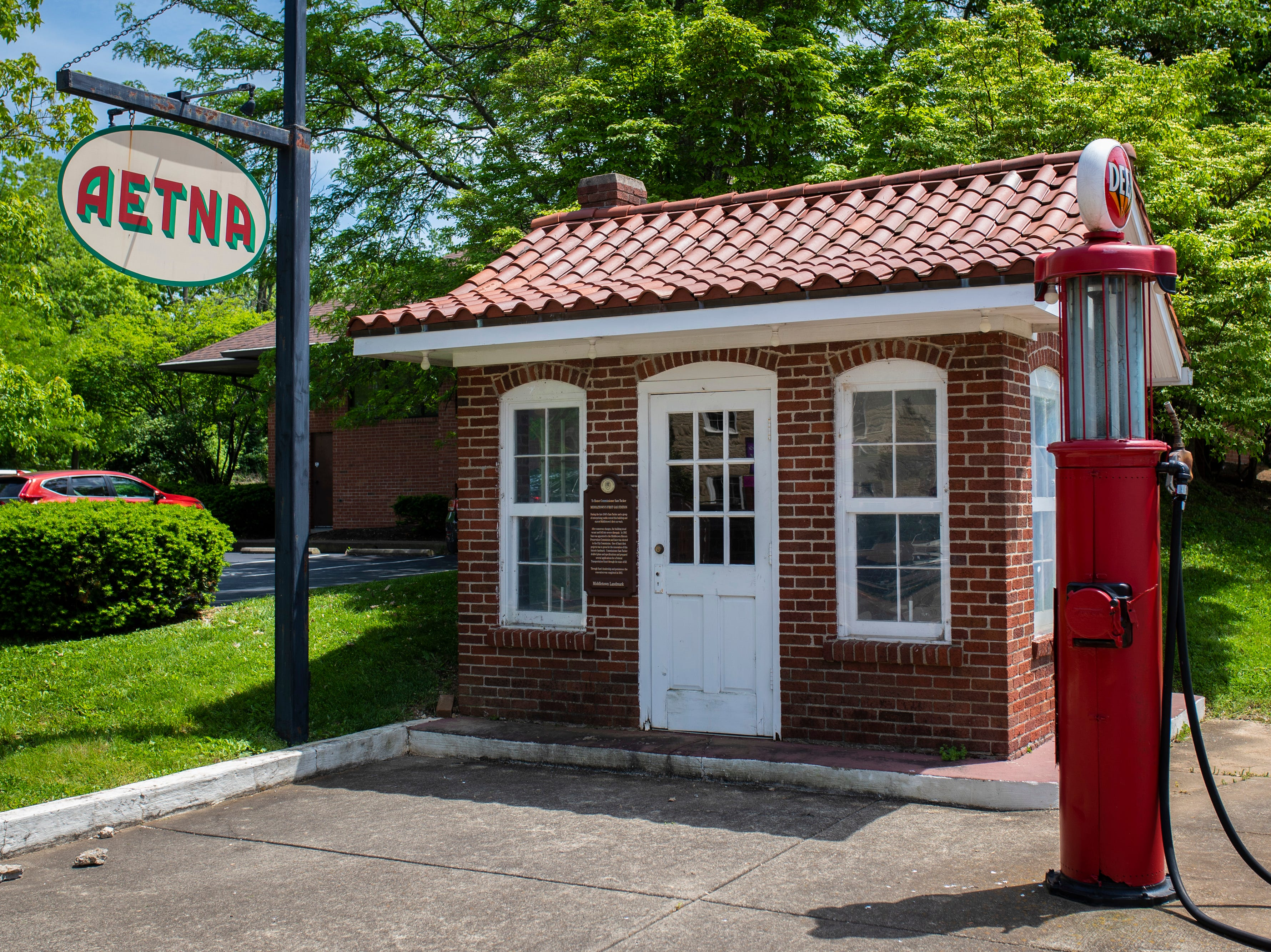 The first gas station is still maintained in the Middletown neighborhood. May 8, 2019