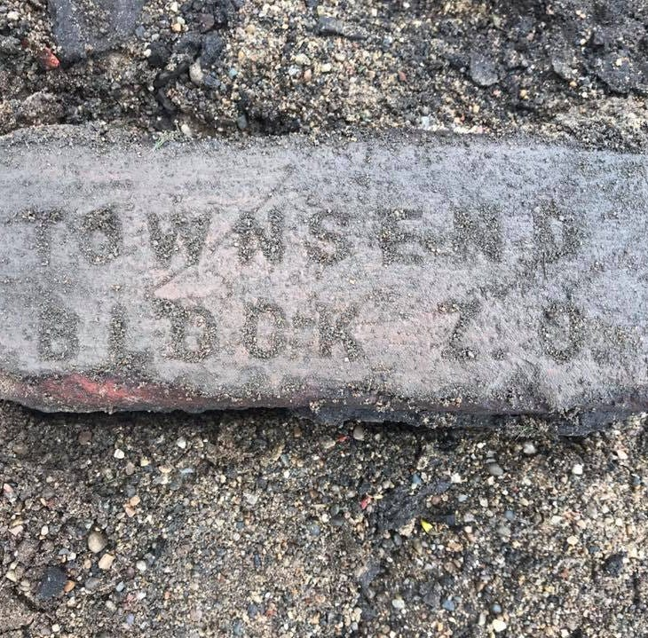 Lansing's Old Town history: What construction crews found while digging up a road