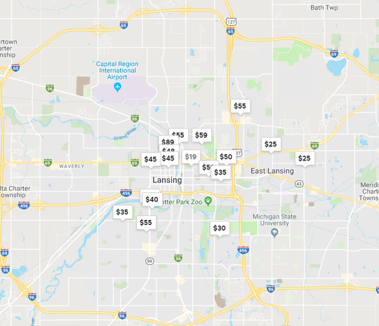 The Lansing area boasts more than 200 active Airbnb listings, according to spokesperson Ben Breit. About 40% of those listings advertise extra rooms in the host's home.