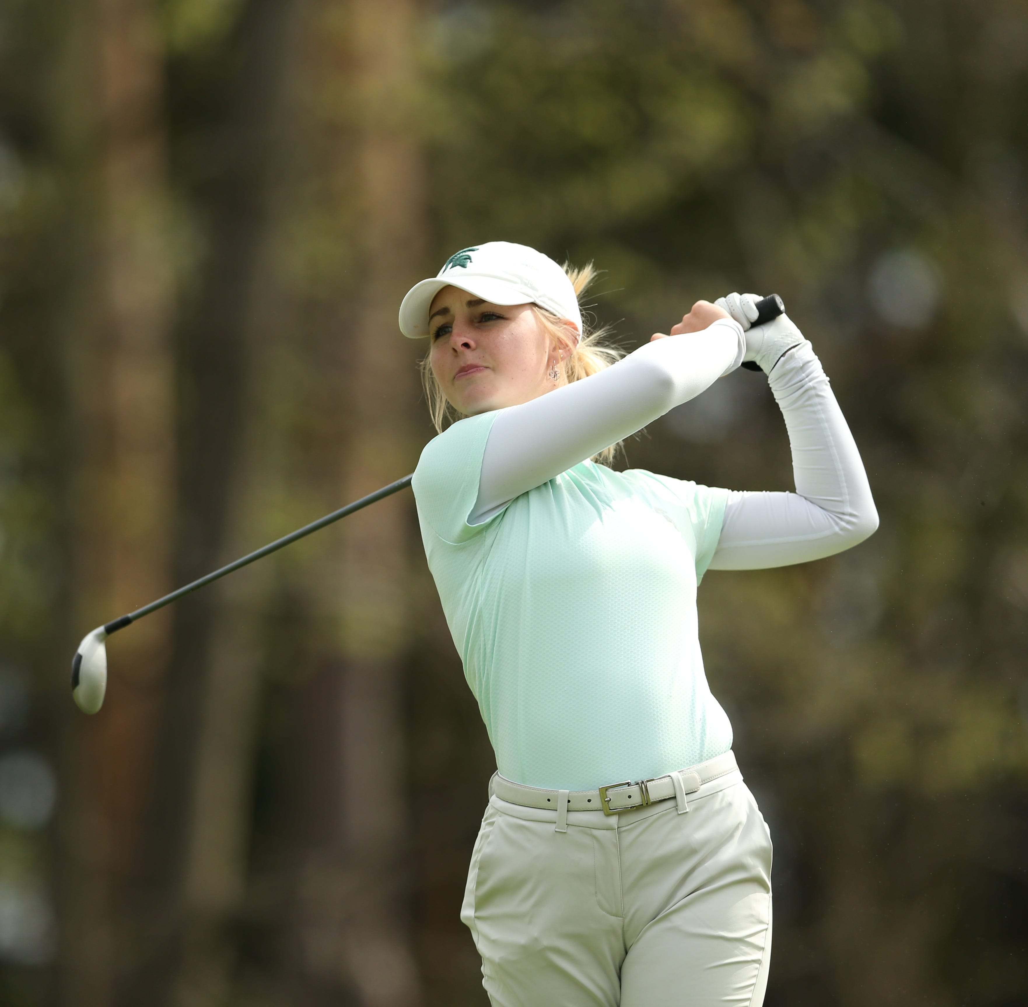 MSU women's golf maintaining pace to qualify for NCAA Championships in regional action