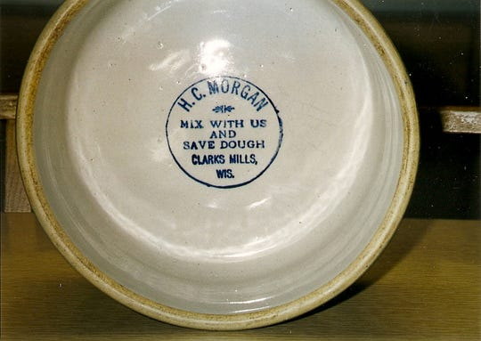 "A bowl with the inscription ""H.C. Morgan"" was distributed to early store customers."