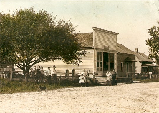 The Clarks Mills General Store is pictured in this postcard dated Aug. 13, 1909.