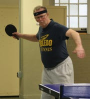 Local tennis legend Terry Brown is now having success on the table tennis circuit as a member of the Mansfield Table Tennis Club.