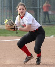Shelby's Brileigh Gates led the Lady Whippets to a sectional semifinal win over Lexington on Tuesday at home.
