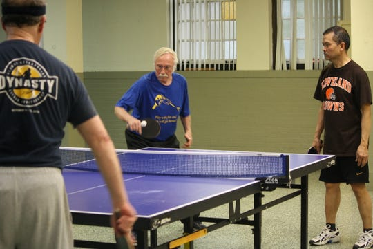 Richard Beer, 72, was instrumental in the Mansfield Table Tennis Club becoming a reality.