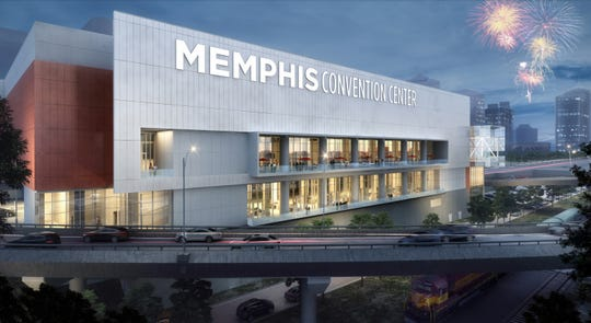 The Memphis Convention Center redesign is underway. It is expected to be complete by Fall 2020.