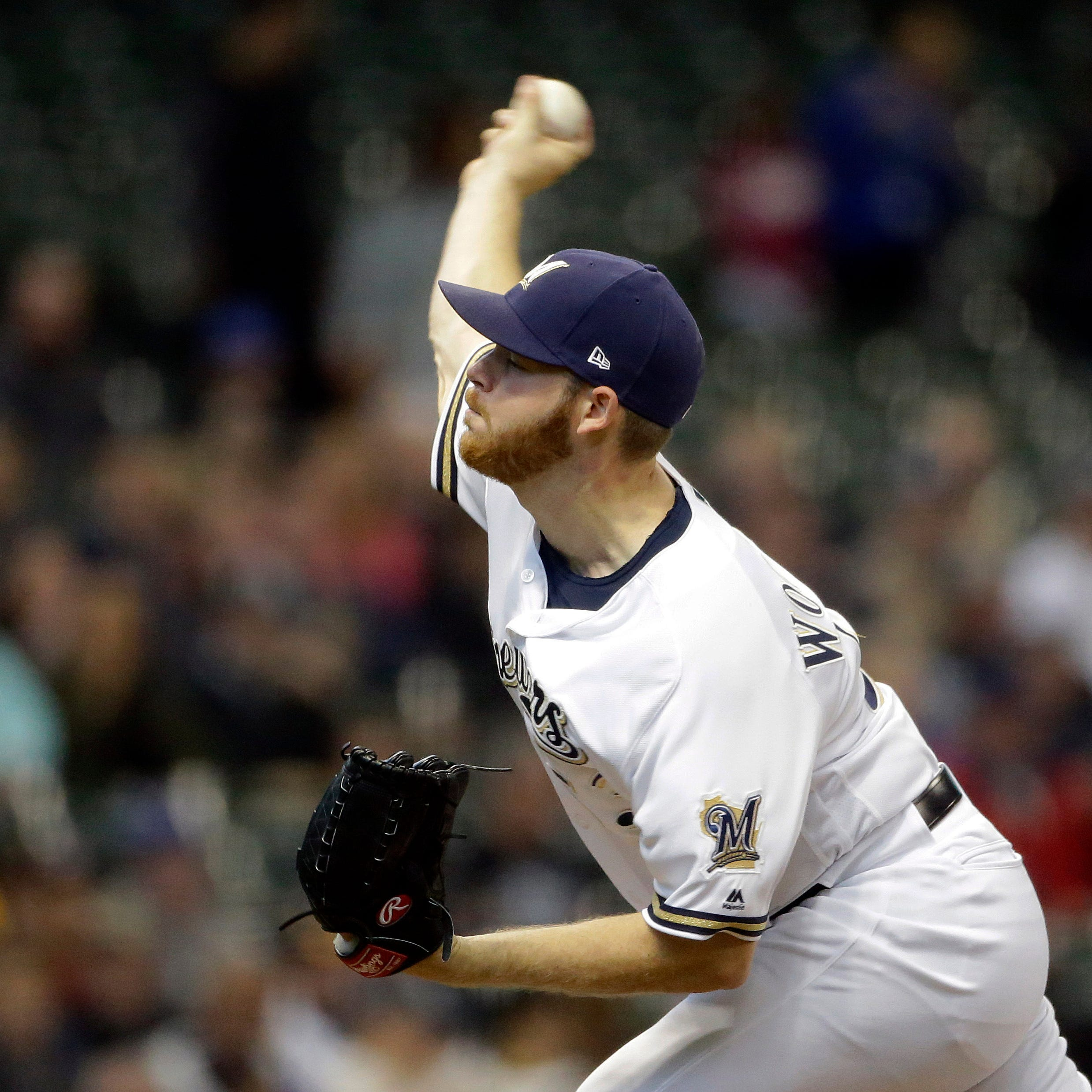 Brewers 7, Nationals 3: Brandon Woodruff makes a strong start to extend the Brewers' win streak