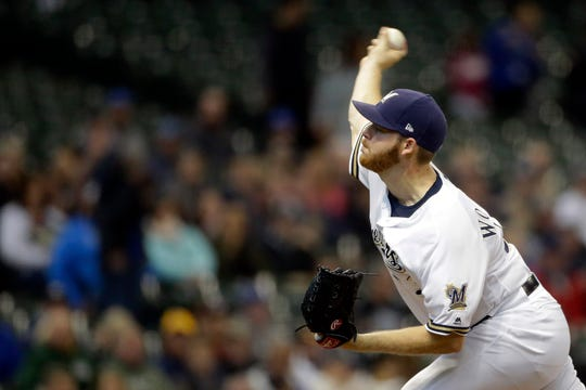 Brandon Woodruff improved to 3-0 with a a 1.69 ERA over his past three starts.