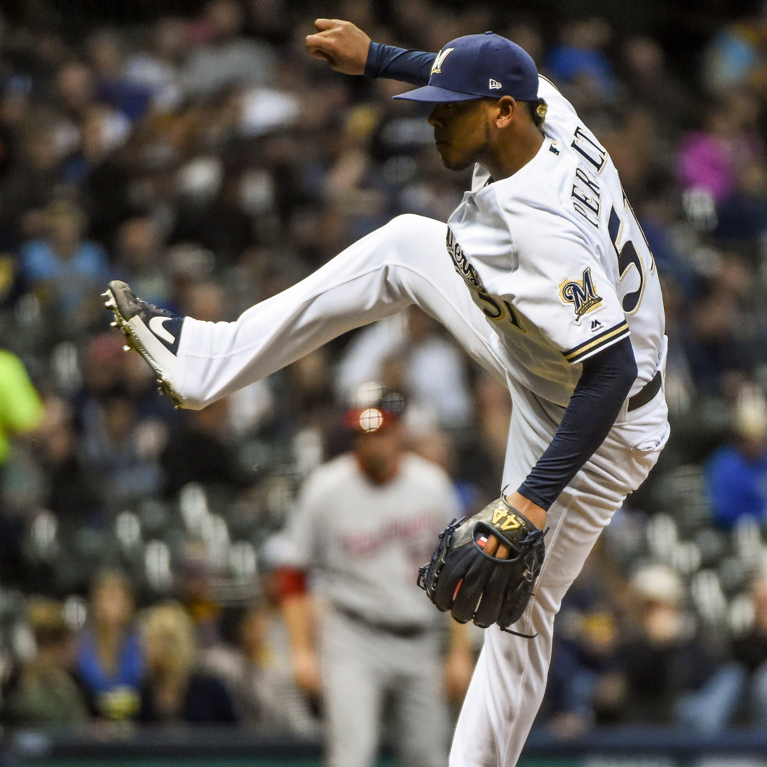 Brewers 6, Nationals 0: Adrian Houser, Freddy Peralta provide solid 1-2 punch