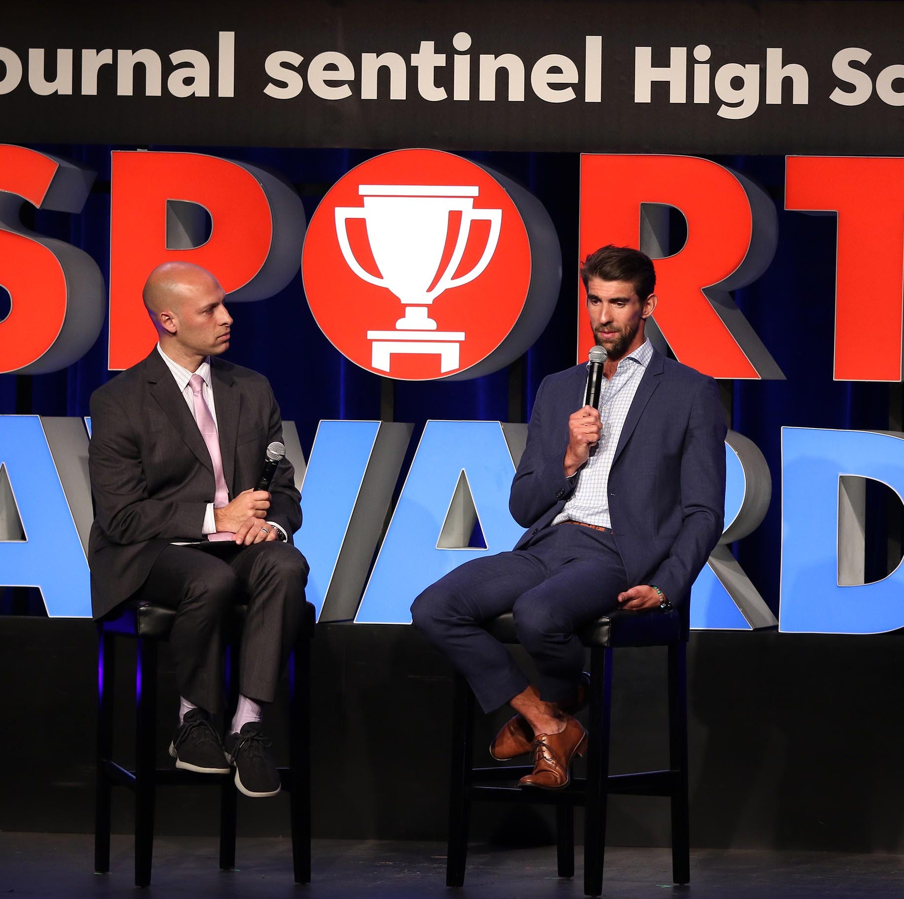 Seven things we learned about Michael Phelps at the Journal Sentinel High School Sports Awards