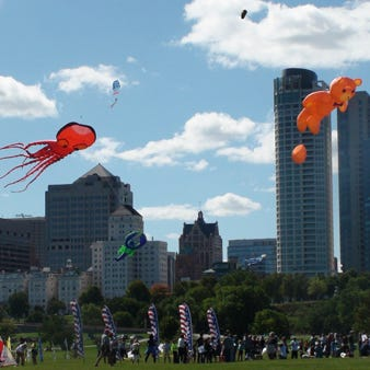 The summer's kite festivals start Memorial Day weekend, with a new giant whale kite