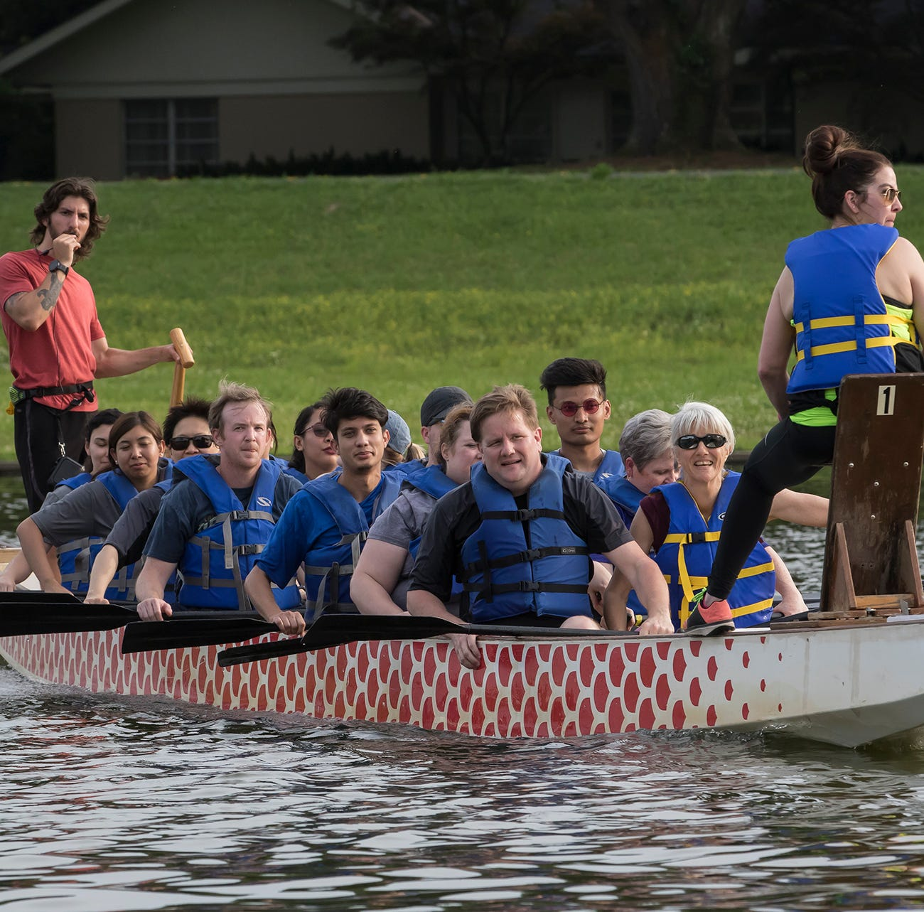 Update: Dragon Boat Races will start at noon Saturday